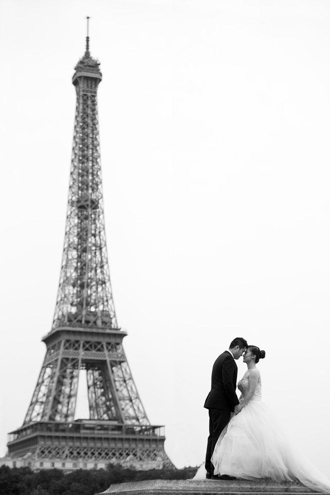 mariage a la Tour Eiffel