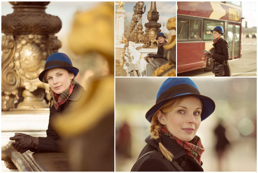 Shooting anglaise a Paris