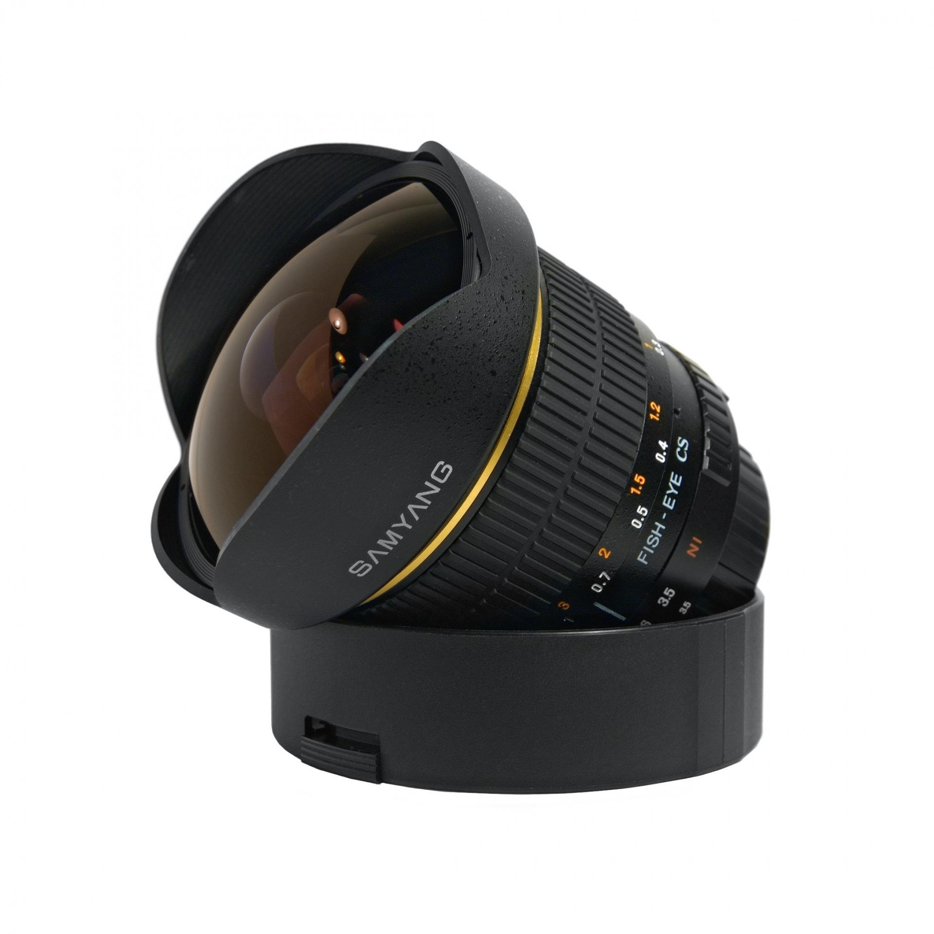 Samyang 8mm f3 5 fish eye
